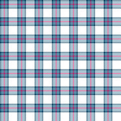 Gingham seamless pattern. Vector background