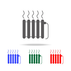 radiator icon. Elements in multi colored icons for mobile concept and web apps. Icons for website design and development, app development