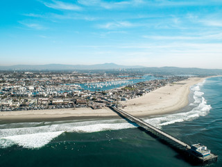 Newport Beach Aerial Overview