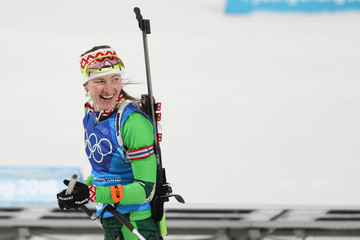 Olympics: Biathlon-Womens 4x6km Relay