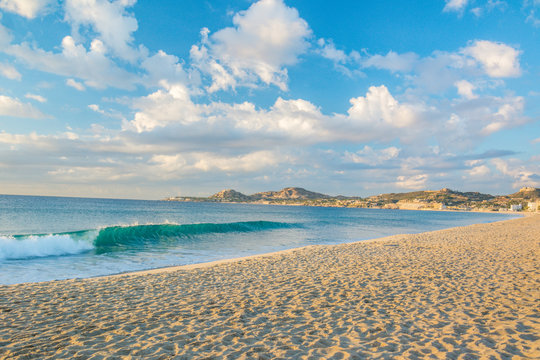 Sunny day at the beach in Los cabos, Baja California Sur