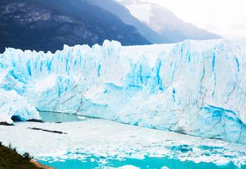 Poster Glaciers Glacier Perito Moreno, southeast of Argentina