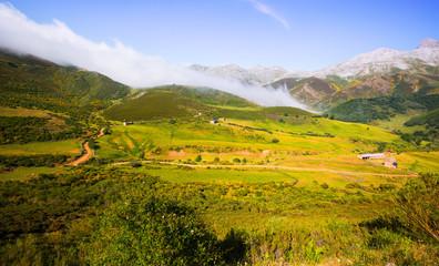 tranquil mountain landscape