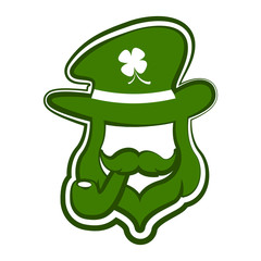 Abstract leprechaun avatar