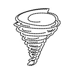 tornado season wind storm weather image vector illustration sticker design