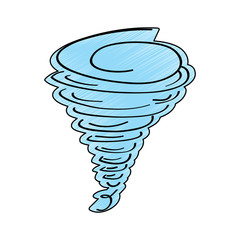 tornado season wind storm weather image vector illustration drawing design color