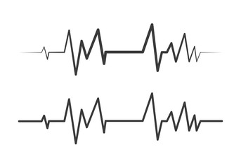 heartbeat pulse vector