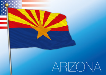 Arizona,  federal state flag, United States