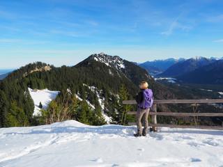 Winterwanderung in den Ammergauer Alpen
