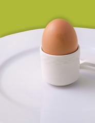 An egg for breakfast