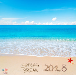 spring break 2018 on the sand