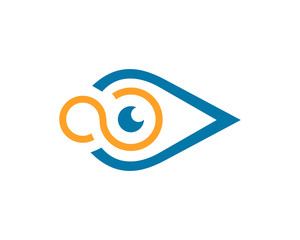 Eye Logo template vector illustration design