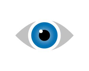 Eye Logo template vector illustration design