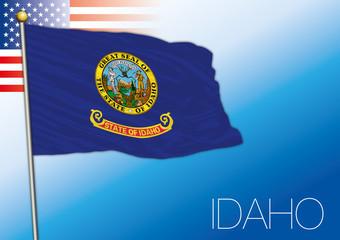 Idaho federal state flag, United States