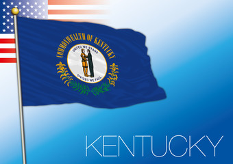 Kentucky federal state flag, United States