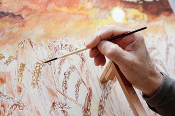 resim yapan ressam