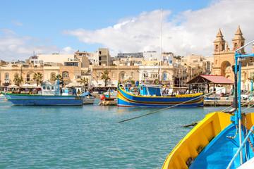 Marsaxlokk, Malta,