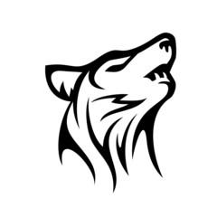 Wolf Logo Stock Vector