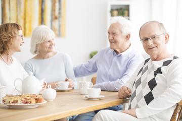 Seniors in nursing home
