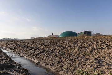 Biogasanlage in Bottrop-Kirchhellen
