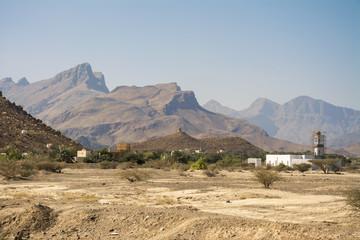 Marslandschaft in Oman