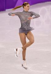 Olympics: Figure Skating-Womens Free Skate Program