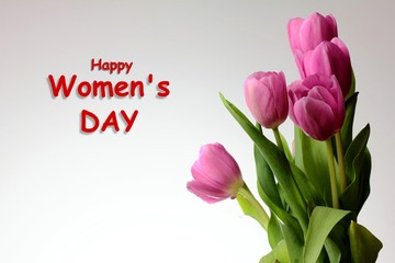 International Women's Day Card Background