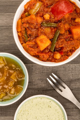 Indian Style Vegetarian Masala Curry