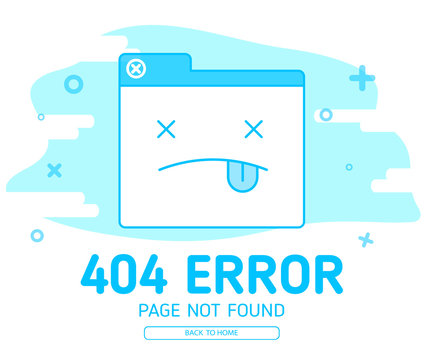 404  error with icon tab wedsite error