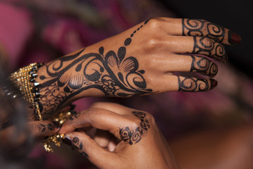Wedding Black Henna