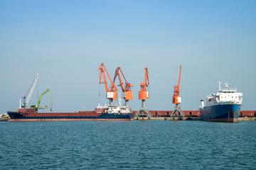 Gemi yükleme bölgesi