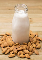 Freshly Made Almond Milk - An alternative to traditional cow's milk