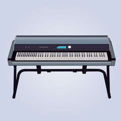 Realistic Keyboard Instrument