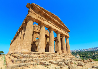 Valley of Temples, Agrigento, Sicily, Italy