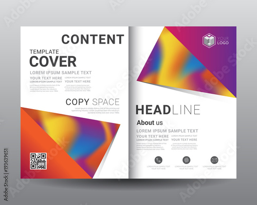 business bi fold brochure templates fold leaflet flyer magazine