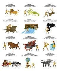 hercules heracles mythology twelve labors