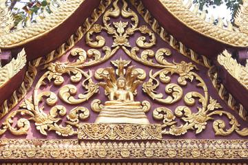 Buddha Sheltered by Naga Hood