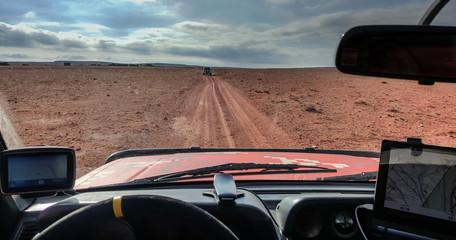 Navigation through the desert