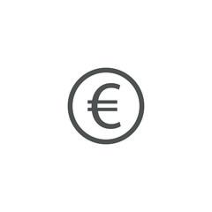 euro icon. sign design