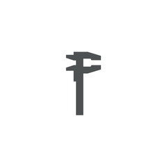wrench icon. sign design