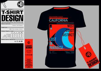 Stock Vector Illustration: T-Shirt Design / Print Design