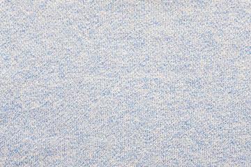Blue cotton fabric textured background, fashion pattern design textile concept