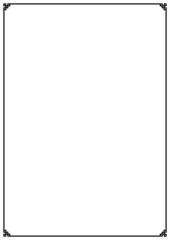 Vector vintage page frame