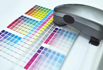 Color management. Spectrophotometer, Print Measuring