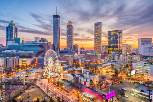 Fototapete Atlanta, Georgia, USA