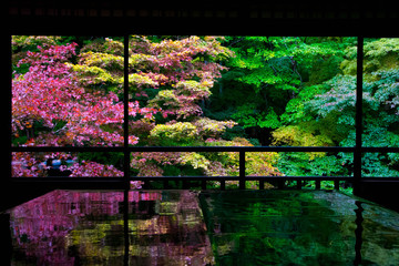 Poster de jardin Kyoto Frame architecture