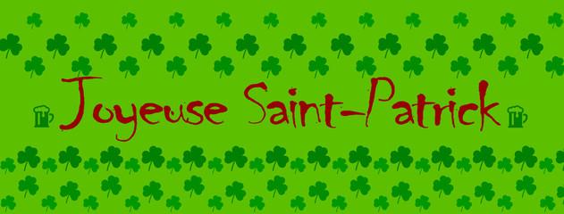 Joyeuse saint patrick / chance