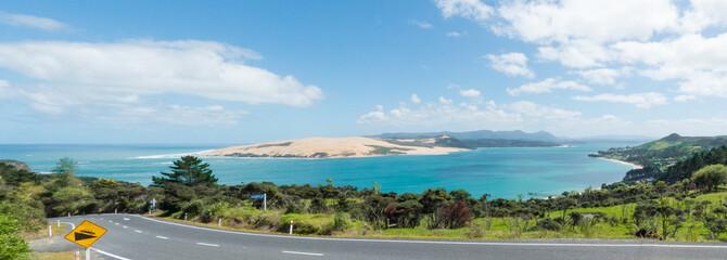 Landscape near Cape Reinga (Te Rerenga Wairua) New Zealand