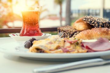 delicious turkish breakfast