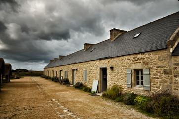Meneham village, Kerlouan, Finistere, Brittany (Bretagne), France